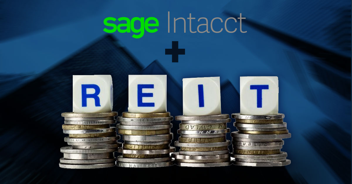Sage Intacct For Real Estate Investment Trust