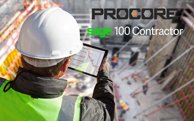 Sage 100 Contractor and Procore Integration