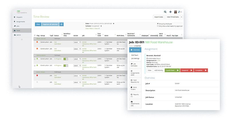 Control labor cost with Sage Field Operations