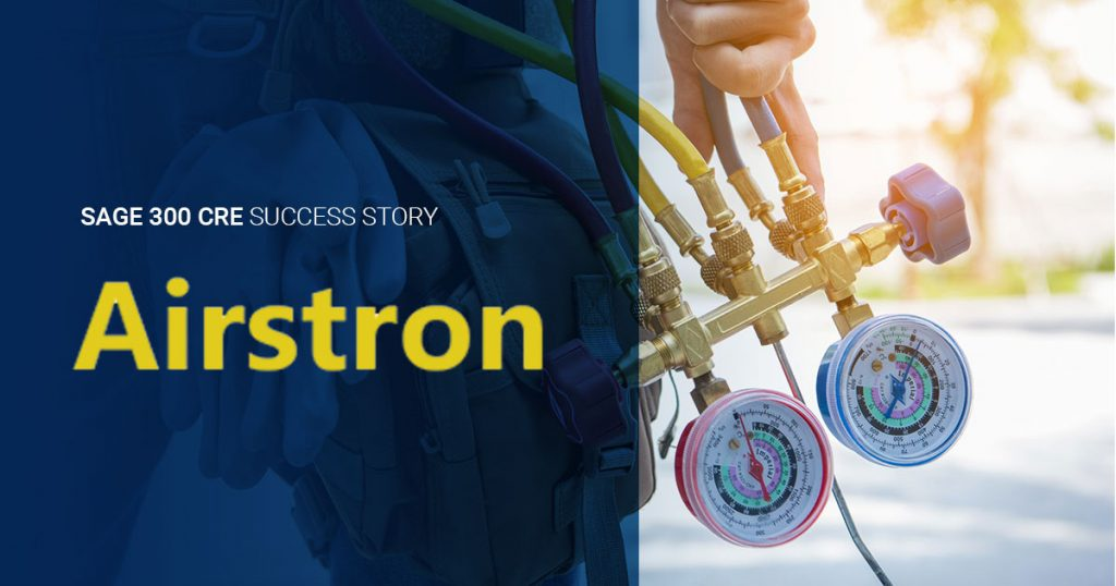 Sage 300 CRE Success Story: Airstron Inc.