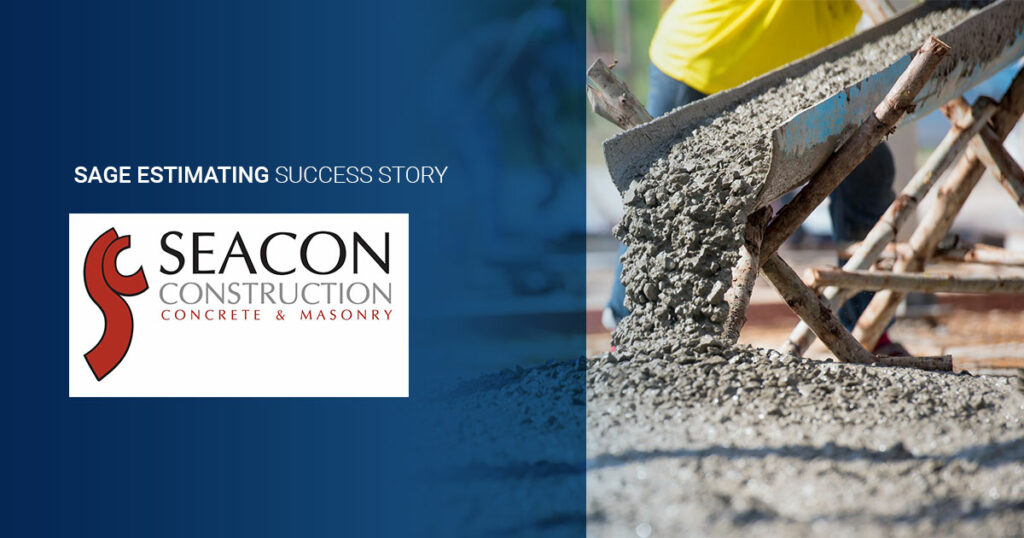 Seacon Construction cuts estimating time by more than 50%